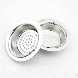 $enCountryForm.capitalKeyWord NZ - Kitchen Stainless Steel Sink Strainer Basin Plug Drain Basket Hair Catcher Kitchen Strainer Basket 2 Sizes