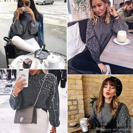 52677a9adf Lantern Sleeve Sweater Women Cashmere O Neck Angora Sweater Winter Women  Sweaters And Pullovers Knitted Sweater Long Sleeve FS5602