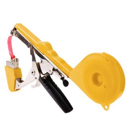 hand tying machine Canada - Freeshipping Garden Tool Plant Tying Machine Branch Hand Tying Machine Packing Vegetable Stem Strapping Pruning Tool