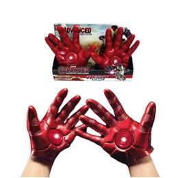 $enCountryForm.capitalKeyWord Australia - Marvel 4 Avengers Costume Accessories Iron Man Panther Hulk Cosplay Gloves Raytheon Axe Kids Toy Halloween Stylish New Trendy Costumes