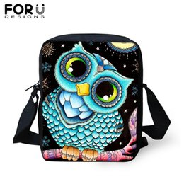 crossbody bags boys Australia - FORUDESIGNS Anime Owl Messenger Bag For Woman Kids Small Casual Crossbody Bags for Boys Girls Travel Shoulder Tote Dropship