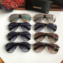 $enCountryForm.capitalKeyWord Australia - High quality Classic DITA BNITIATAR Pilot Sunglasses Designer Large Metal Sun Glasses For Men Women Silver Mirror Glass Lenses UV Protection