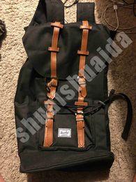 Laptop Travel Backpacks Australia - 2019 Outdoors packs Backpack Fashion knapsack Computer package Big Canvas + nylon Handbag Travel bag Sport&Outdoor Packs Laptop bag Canada