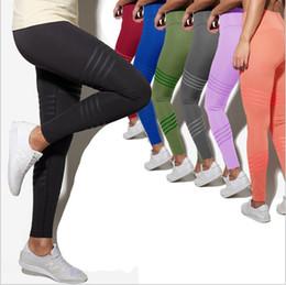 077f6e2040c6a Women Leggings Yoga Fitness Jeggings High Waist Slim Legging Sports  Bodybuilding Elastic Tights Running Pencil Pants Casual Trousers B5380