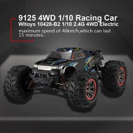Wholesale High Quality 9125 4WD 1 10 High Speed 46km h Electric Supersonic Truck Off-Road Vehicle Buggy RC Racing Car Electronic Toys RTR