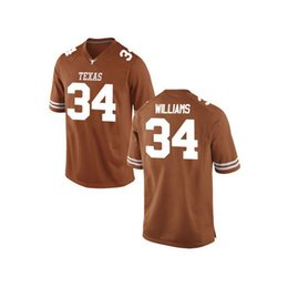 browns orange jersey UK - Collin Johnson Stitched Men's Texas Longhorns WILLIAMS Brian Orakpo ricky williams White Orange NCAA College Jersey