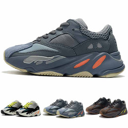 the latest 0941d bc129 Kinder Schuhe Wave Runner 700 Laufschuhe Kanye West Sneaker Junge Mädchen  Trainer Turnschuhe Hohe Qualität Kinder Sportschuhe