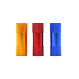 Chinese  Colorful Cream Whipper Pollen Press Aluminum Alloy Pressure Device Accessories Innovative Design Multiple Uses Smoking Pipe Herb Grinder manufacturers