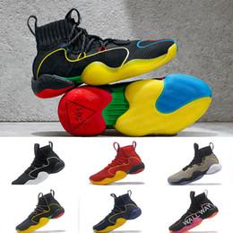 3be9e3e4c464 2019 pharrell basketball shoes for men x crazy BYW lvl ariginal wall way  empathy gratitude designer sneaker