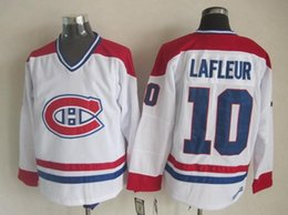 $enCountryForm.capitalKeyWord Australia - Top Quality ! Montreal Canadiens Ice Hockey Jerseys Cheap 10 Guy Lafleur Retro Vintage CCM Authentic Stitched Jerseys Mix Order !