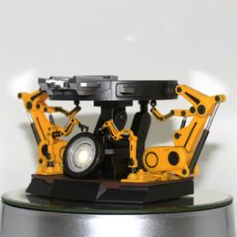 $enCountryForm.capitalKeyWord Australia - Iron Man MK6 Arc Reactor Chest Light Unpacking Table Anime Figures Boy CollectibleMoble Hot Toys Gifts Doll Hot Sale PVC Free Shipping