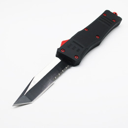 Chinese  A161 red devil demon double action hunting Folding Knife Xmas gift knife for men 1pcs freeshipping manufacturers