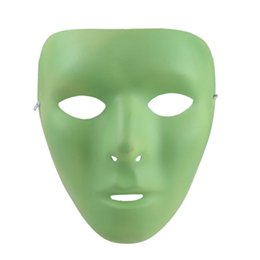 $enCountryForm.capitalKeyWord Australia - Glow-in-the-Dark Noctilucent Face Mask for Halloween Masquerade Carnival Costume