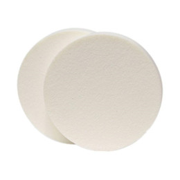 Chinese  90mm big round makeup foundation sponge puff powder puff cosmetic make up face care tools White Nude F3085 manufacturers