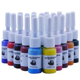 $enCountryForm.capitalKeyWord Australia - Tattoo Ink Pigment Set Kits Body Art Tattoo 5ml Professional Beauty Permanent Makeup Paints Supplies 20 Colors Bottles