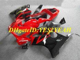F4i giFt online shopping - Injection mold Fairing kit for Honda CBR600F4I CBR600 F4I ABS Hot red black Fairings set Gifts HY34