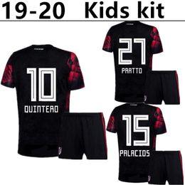 Children S Boys Shirts Australia - 19 20 River Plate Kids Kit Soccer Jersey 2020 River Away #10 QUINTERO Child Soccer Shirts BORRE PRRTTO Boy Football uniform Sales