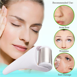 Wholesale Portable skin cool Ice Roller Massager for Face Body Massage Facial Skin Care Preventing Wrinkle for home use