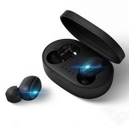 mini bluetooth ear earphone headset headphone 2019 - Bluetooth Earphones TWS A6S Headphones Bluetooth 5.0 Wireless Headsets Life Waterproof Mini Twins Bluetooth Earbuds with