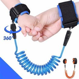 Toddler Wrist Australia - Kids Anti Lost Wrist 1.5M Strap Rope Toddler Leash Safety Harness Outdoor Walking Hand Belt Band Anti-lost Wristband Hot Sale