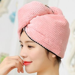 Bath & Shower beige, Dark Purple, Light Pink, Light Blue Beauty & Health Nice 4pcs Microfiber Hair Drying Towels Fast Drying Hair Cap Long Hair Wrap Hair Towel