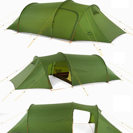 Three Season Tents Australia - Naturehike Practical Ultralight Tunnel Tent For Three Men 3 Persons Camping Hiking Travelling 3 Season