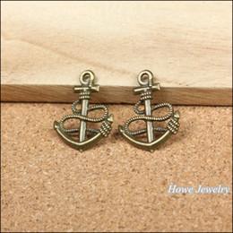 Vintage anchors necklace online shopping - Vintage Charms Anchors Pendant Antique bronze Fit Bracelets Necklace DIY Metal Jewelry Making