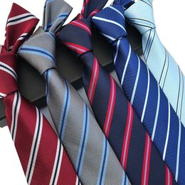 $enCountryForm.capitalKeyWord Australia - 2019 Fashion New Striped Dark Tie Suit Business Work Leisure Tie