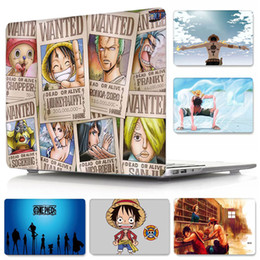 $enCountryForm.capitalKeyWord Australia - Japanese Anime ONE PIECE PC Case for Macbook Air Pro Retina 11 12 13 15 inch Front and Back