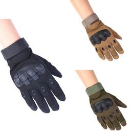 $enCountryForm.capitalKeyWord Australia - New Non-Slip Rubber Full Finger Gloves Nylon Fiber Ultra-Fine Dimension Touch Screen Mountaineering Warm Tactical Gloves