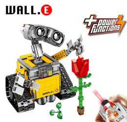 $enCountryForm.capitalKeyWord Australia - Dhl In Stock Compatible With 21303 Wall E Robot Idea Series Building Block Brick Toys For Christmas Gifts New Year Gift MX190730
