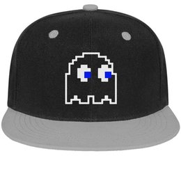 $enCountryForm.capitalKeyWord NZ - Pac-Man Video Game Ghost Group Unisex Men's Cap Womens Caps Casual Cotton Snapback Flatbrim Running Hats Ball Cap for Women