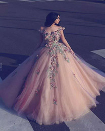 $enCountryForm.capitalKeyWord UK - 2020 Vintage Arab Ball Gown Wedding Dress Luxury Lace Flowers Cap Sleeve Vestido De Noiva Champagne Tulle Wedding Dresses