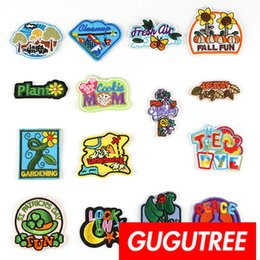 $enCountryForm.capitalKeyWord NZ - GUGUTREE self-adhesion embroidery letter patches badge patch Applique Patch for Coat,T-Shirt,hat,bags,Sweater,backpack SP-271