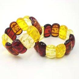 $enCountryForm.capitalKeyWord Australia - Ambers Color Resin Bracelet bangels pulseira Luxury Festival Gifts For cuff 2019 New Fashion style Bracelets