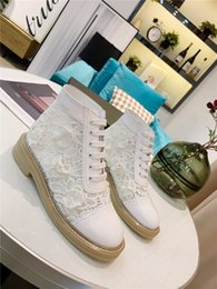 $enCountryForm.capitalKeyWord Australia - New women leisure boots, star web celebrity street photography essential style Delicate lace popular ankle boots for women with box