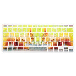 Macbook Retina 13 Inches Australia - HRH Ultra-thin Rainbow Animals EU Italian Silicone Keyboard Cover Skin Protective Film For Macbook Pro Air Retina 13 15 17 Inch