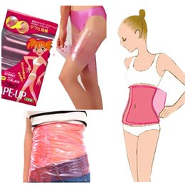 Wholesale Slimming Waist Belly Belt Cellulite Fat Burner Wrap Thigh Calf Arm Lose Weight SHAPE UP Sauna Slimming Belt PVC Nontoxic Body Shaper A42301