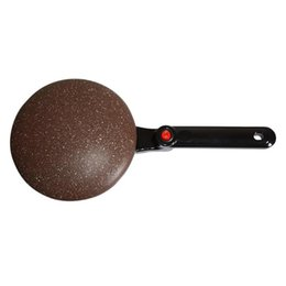 wholesale pizza pans NZ - Automatic Non-stick Pizza Pancake Maker Machine Griddle Electric Baking Pan Electric Crepe Maker kitchen cooking tools