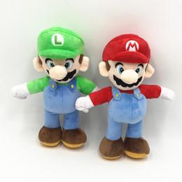 "$enCountryForm.capitalKeyWord Australia - Hot Sale 2 Style 9"" 25CM MARIO & LUIGI Classic Game Characters Super Mario Bros Plush Doll Stuffed Toys For Baby Good Gifts"