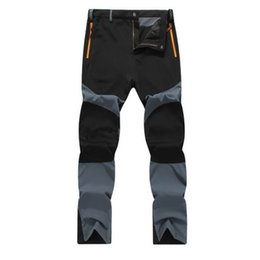 Ingrosso Pantaloni esterni da uomo impermeabili antivento e traspiranti da trekking all'aperto da ciclismo Pantaloni da arrampicata Pantaloni da carico tattici