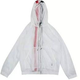 $enCountryForm.capitalKeyWord UK - LI O TB new 2019 summer casual urban Korean women's hoodie zipper back vertical strip loose suntan shirt