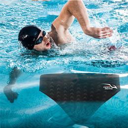 $enCountryForm.capitalKeyWord Australia - Professional Shark Skin Swimming Briefs Competition Sports Suit Sharkskin Quick Dry Shorts Waterproof Quick Drying Mens Swimwear