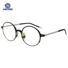 6c7b914f5bd Ultem Eyeglasses Round Glasses Frames Fashion Light Eyewear Fake Glasses  Prescription Optical Frame