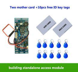 $enCountryForm.capitalKeyWord Australia - RFID EM ID Embedded Door Access Control ,intercom access control, lift control ,with 2pcs mother card, 10pcs em key fob,min:1pcs
