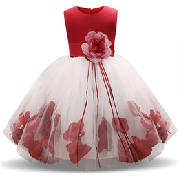 $enCountryForm.capitalKeyWord Australia - Fairy Flower Girl Dresses For Wedding First Holy Communion Dress For Girls Childrn Kids Party Tulle Costume Girl Frocks 10 Years MX190724