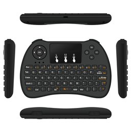 Discount box android tv game Mini Wireless Keyboard Rii i8 H9 Air Mouse Keyboard 10M Mouse And Keyboard Remote For Android Box TV 3D Game Tablet Pc