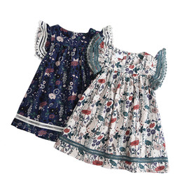 $enCountryForm.capitalKeyWord UK - 2019 new summer cotton short-sleeve dresses age for 2 -10 yrs little girls spring cute embroidered flowers lace frocks for girls