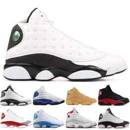 new concept 31abe b7453 Mens 13 13s Basketball Shoes Chicago Altitude Flints History of Flight  Designer Sport Shoes XIII Athletics Sneakers 40-47