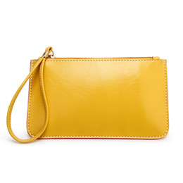 $enCountryForm.capitalKeyWord Australia - Solid Women Clutch Bag Simple Black PU Leather Clutch Bags Enveloped Shaped Messenger Shoulder Bags Wallets Pochette Femme